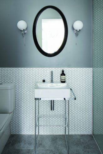 Mono Hex Blanc Matt Porcelain Mosaic