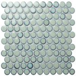 Yoga Penny Mosaic Mint Green Gloss Porcelain